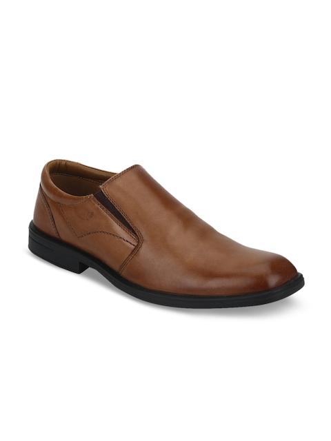 Park Avenue Men Brown Formal Slip-Ons