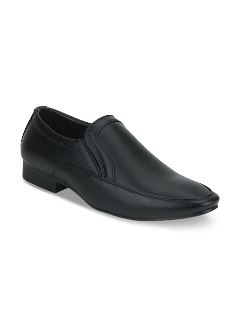 Park Avenue Men Black Formal Slip-Ons
