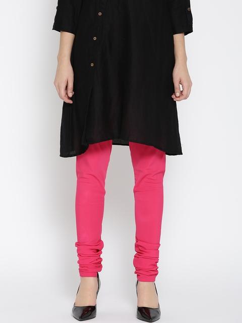 W Pink Churidar