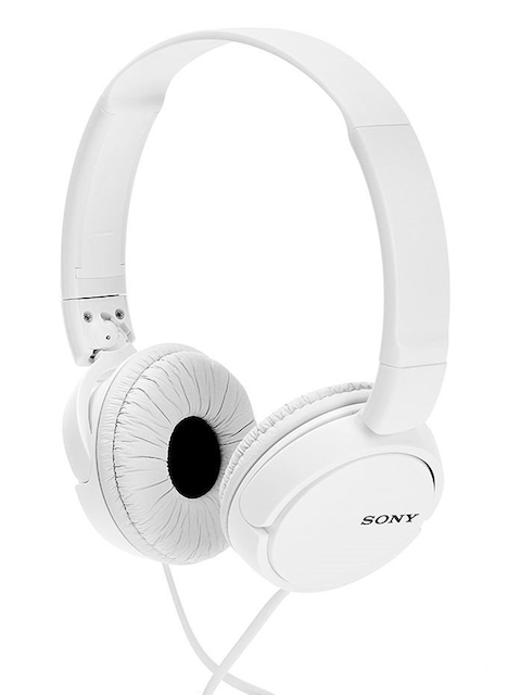 Sony White ZX110 Headphones