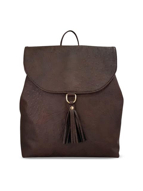 Toteteca Women Brown Solid Backpack