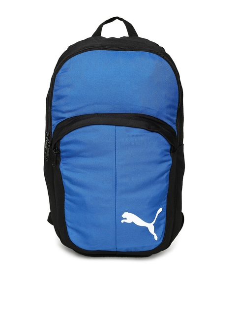 Puma Unisex Blue Solid Backpack
