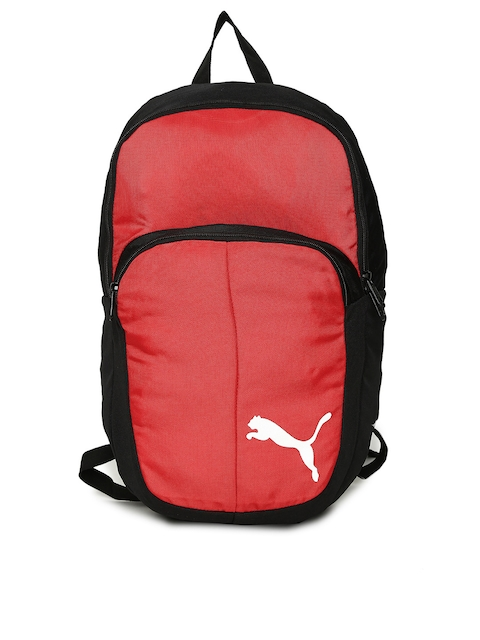 Puma Unisex Red Solid Backpack