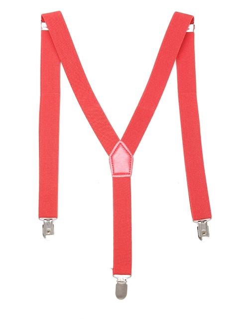 The Bro Code Men Red Suspenders