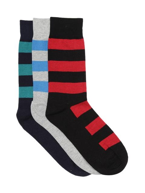 Alvaro Castagnino Men Set of 3 Above Ankle-Length Socks