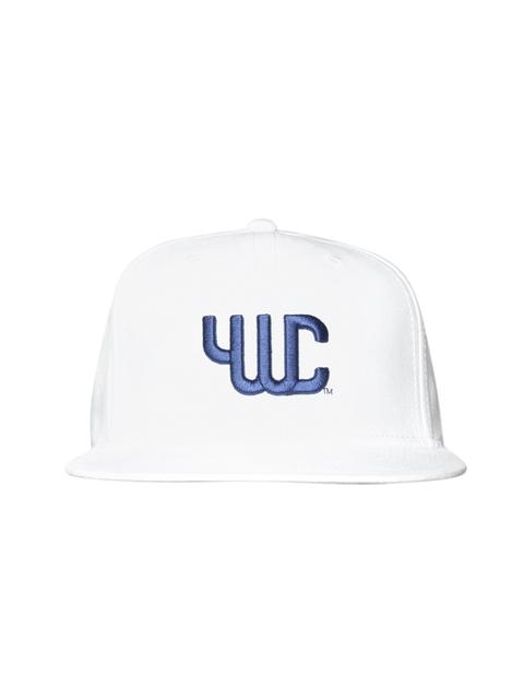 YWC Unisex White Embroidered Baseball Cap