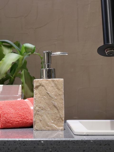 Shresmo Beige Liquid Soap Dispenser