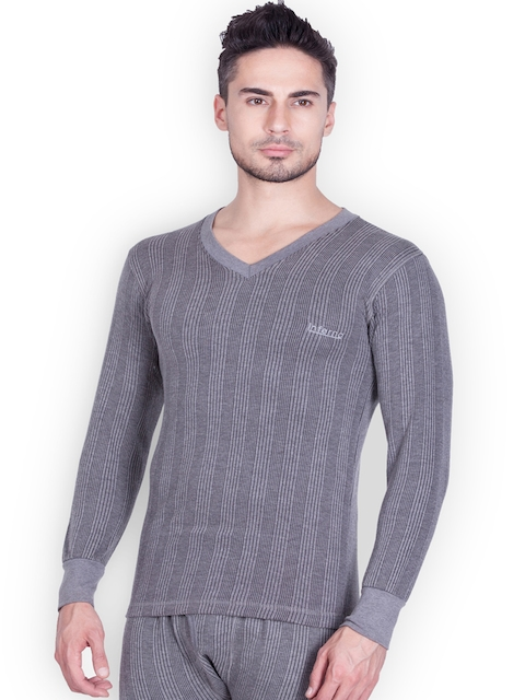 Lux Inferno Charcoal Grey Thermal Top