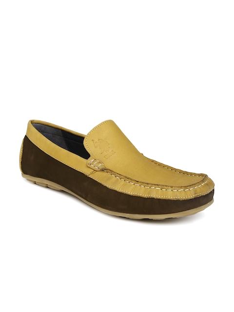 U.S. Polo Assn. Men Tan Loafers