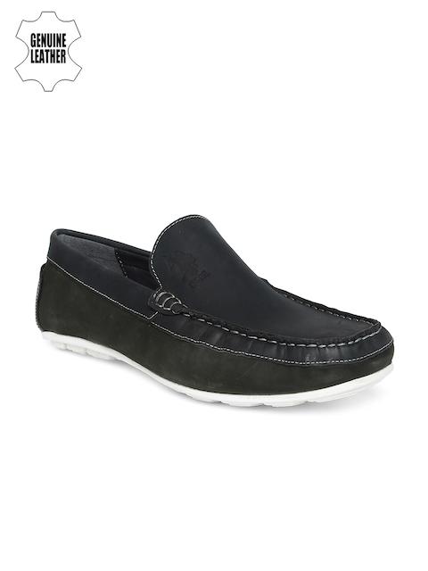 U.S. Polo Assn. Men Blue Genuine Leather Tyson Loafers