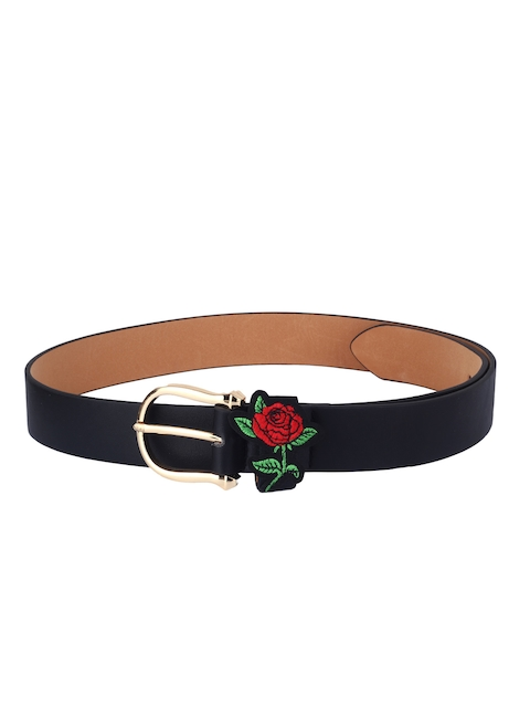 20Dresses Women Black Solid Belt