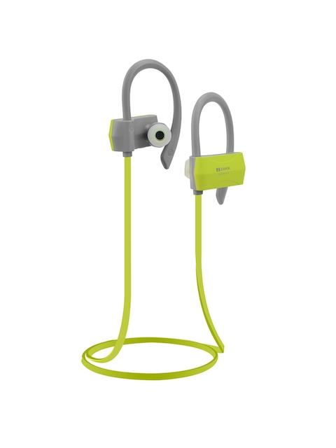 Zakk Unisex Grey & Green In-Ear Bluetooth Sports Earphone with Mic M01