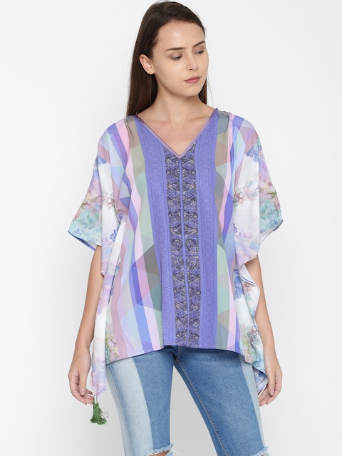 The Kaftan Company Multicoloured Cover-Up Dress TP_PY_ORNAMDP01