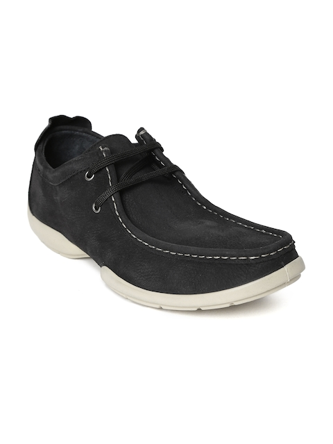 Woodland Proplanet Men Black Nubuck Derbys