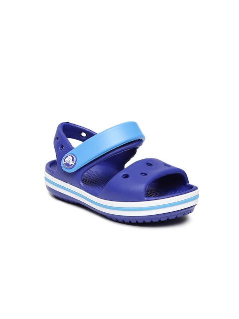Crocs Unisex Blue Colourblocked Clogs