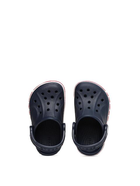 Crocs Unisex Navy Blue Bayaband Solid Clogs