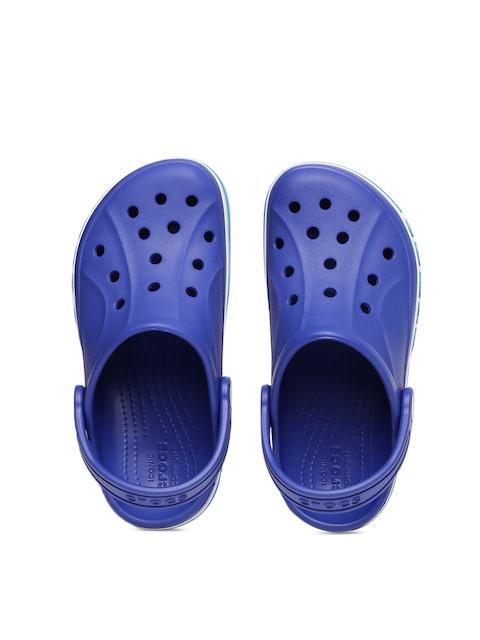 Crocs Unisex Blue Bayaband Solid Clogs