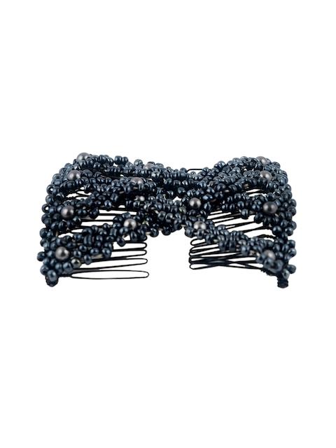 elite models Grey Decorative Hair Comb