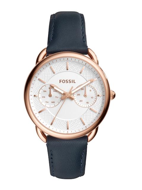 Fossil Women White Analogue Watch ES4260