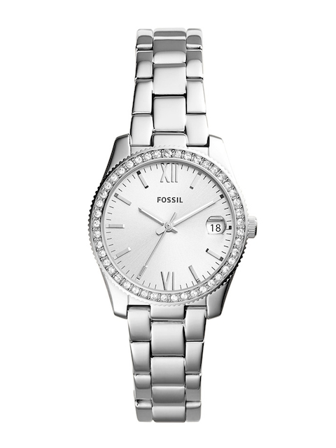 Fossil Women Silver-Toned Analogue Watch ES4317