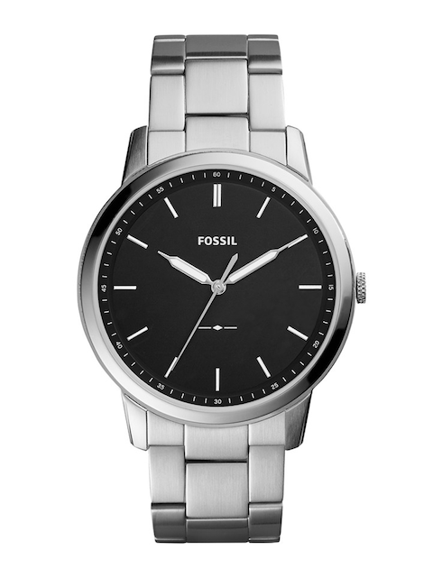 Fossil Men Black Analogue Watch