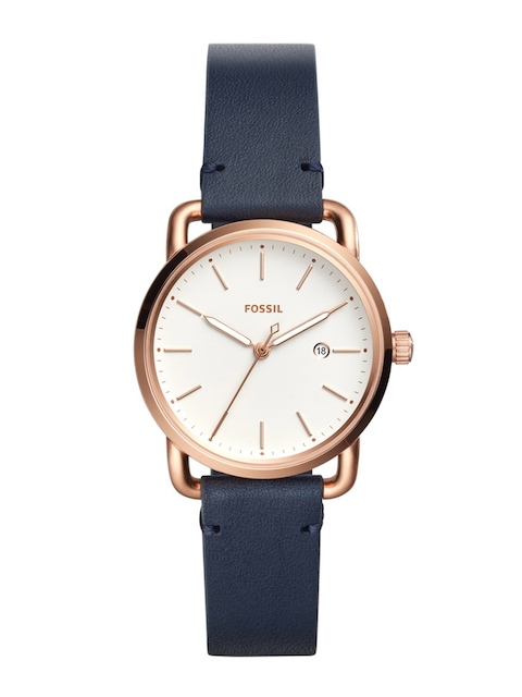 Fossil Women White Analogue Watch