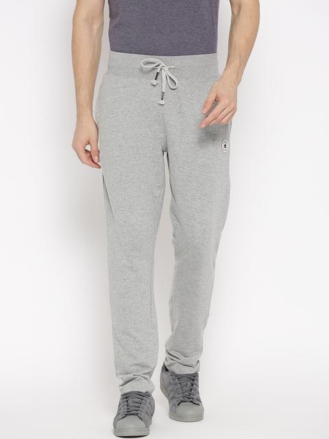 Converse Men Grey Melange Track Pants