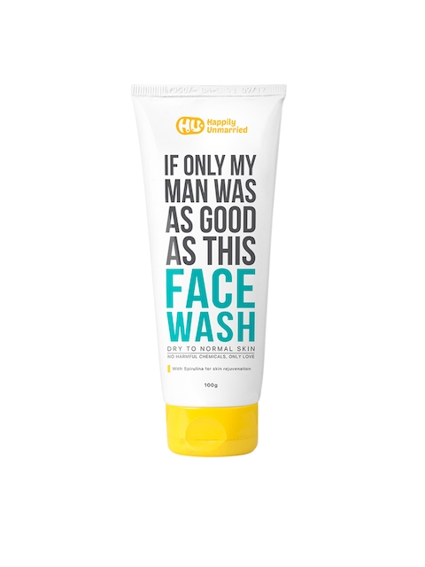 Ustraa by Happily Unmarried Dry to Normal Skin Face Wash 100 ml