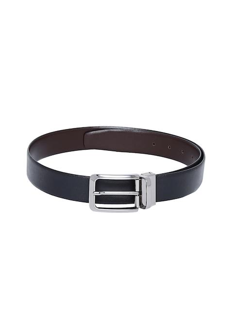 Alvaro Castagnino Men Black & Brown Reversible Belt