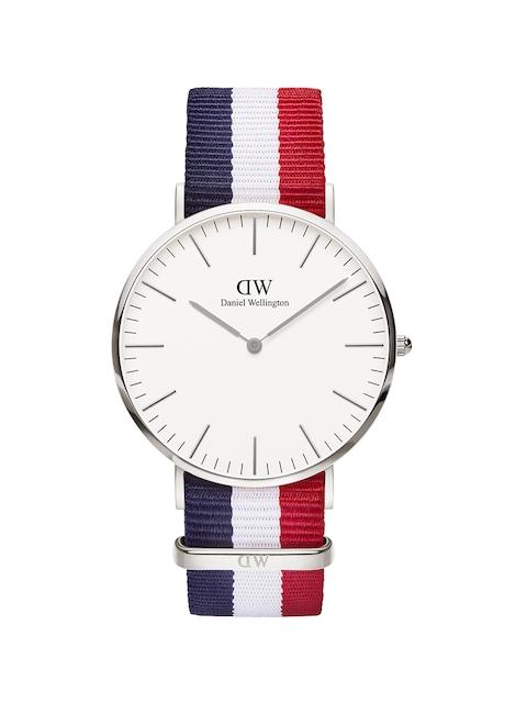 Daniel Wellington Classic Cambridge Men White Analogue Watch DW00100017