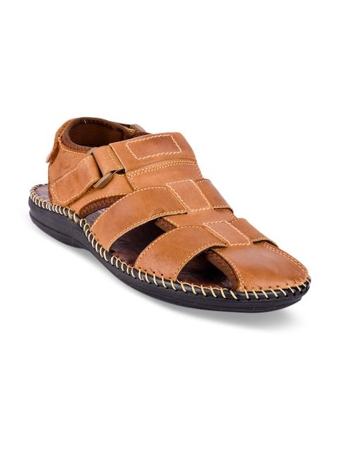 Action Men Tan Brown Comfort Sandals