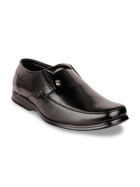 Action Men Black Semiformal Shoes D-572-BLACK