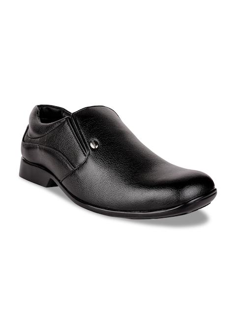 Action Men Black Semiformal Shoes DC-3101-BLACK