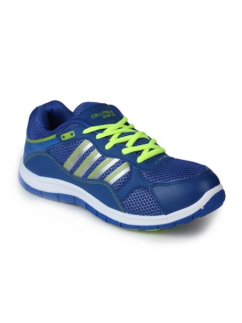 Columbus Men Blue Training or Gym Shoes