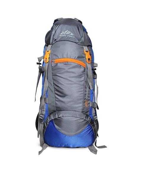 MOUNT TRACK Unisex Blue & Grey Rucksack