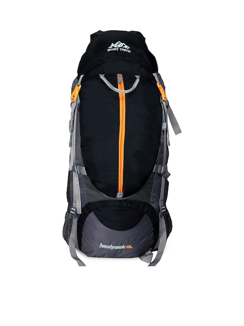 MOUNT TRACK Unisex Black & Grey Rucksack