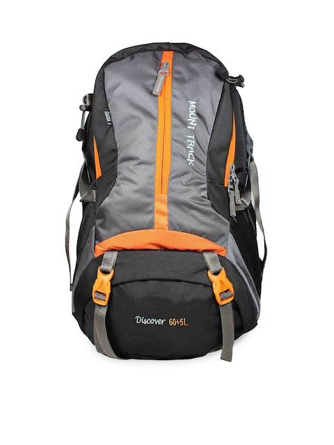 MOUNT TRACK Unisex Grey Rucksack