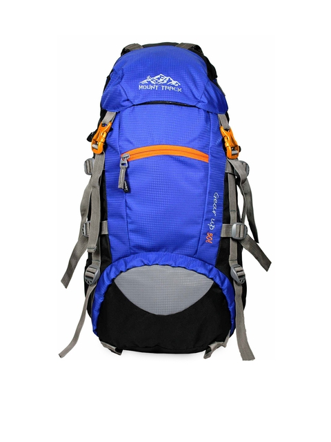 MOUNT TRACK Unisex Blue & Grey Medium Rucksack
