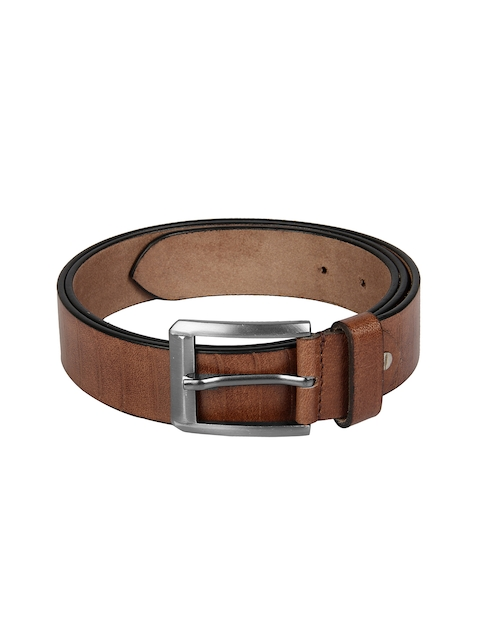 Aditi Wasan Men Brown Textured Belt