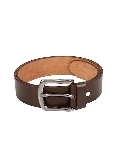 Aditi Wasan Men Brown Solid Belt