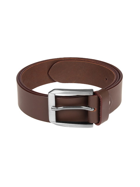 Aditi Wasan Men Brown Solid Belt