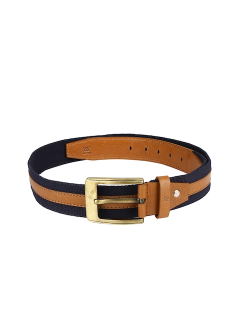 Aditi Wasan Men Blue & Beige Solid Belt