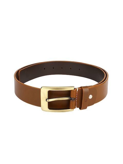 Aditi Wasan Men Tan Solid Belt