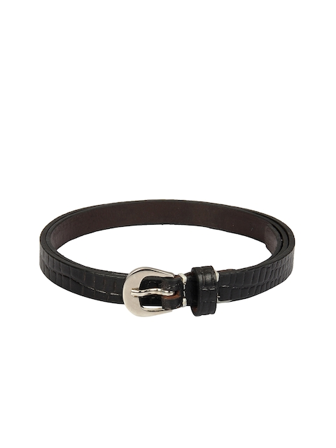 Aditi Wasan Women Black Textured Belt