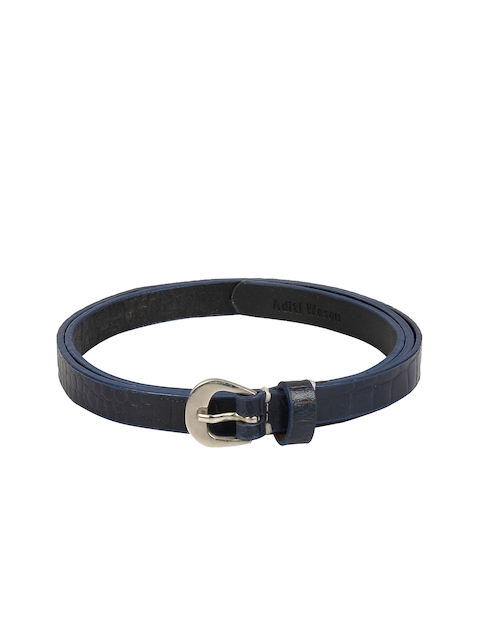 Aditi Wasan Women Blue Textured Belt