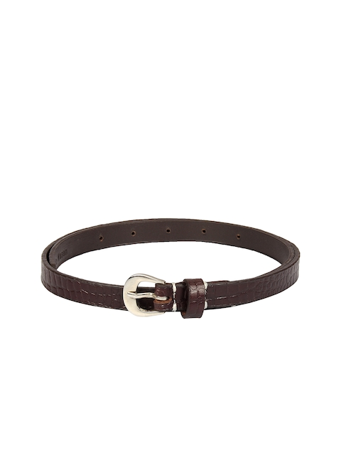 Aditi Wasan Women Brown Textured Belt