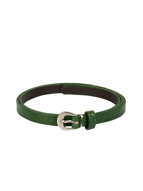 Aditi Wasan Women Green Textured Belt