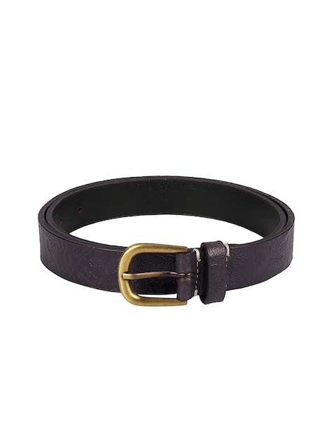 Aditi Wasan Women Purple Textured Belt