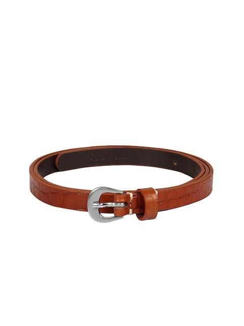 Aditi Wasan Women Tan Textured Belt