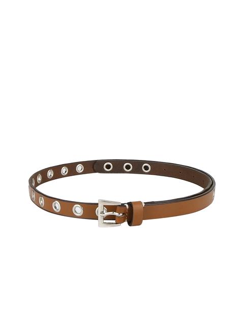 Aditi Wasan Women Tan Solid Belt